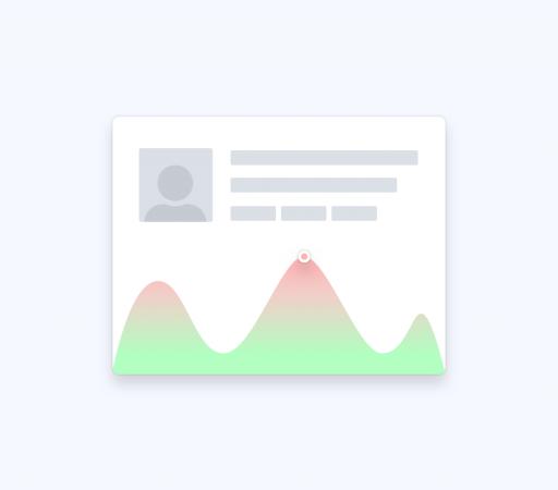 Illustration showing a Customer Engagement Score